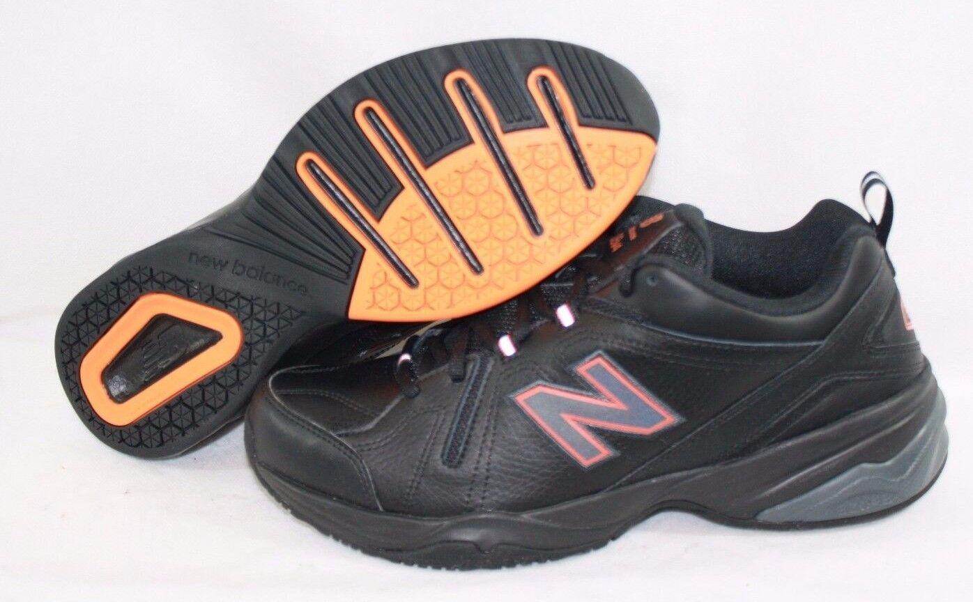 NEW Mens NEW BALANCE MX 608 MO4 Black Orange Training Running Sneakers Shoes