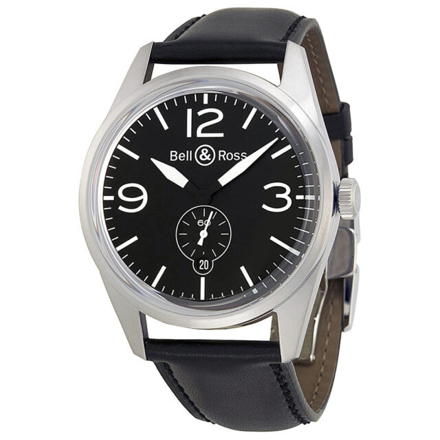 Bell and Ross Vintage Watch BRV123-BL-ST-SCA