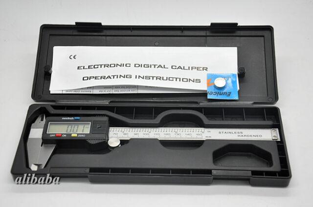 Messschieber digital LCD Schieblehre Messgerät Messlehre Lehre Etui Caliper
