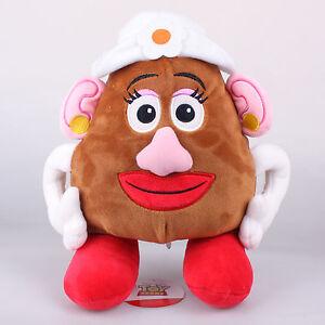 12 30cm Licensed Pixar Toy Story Mrs Potato Head Plush Toys Soft