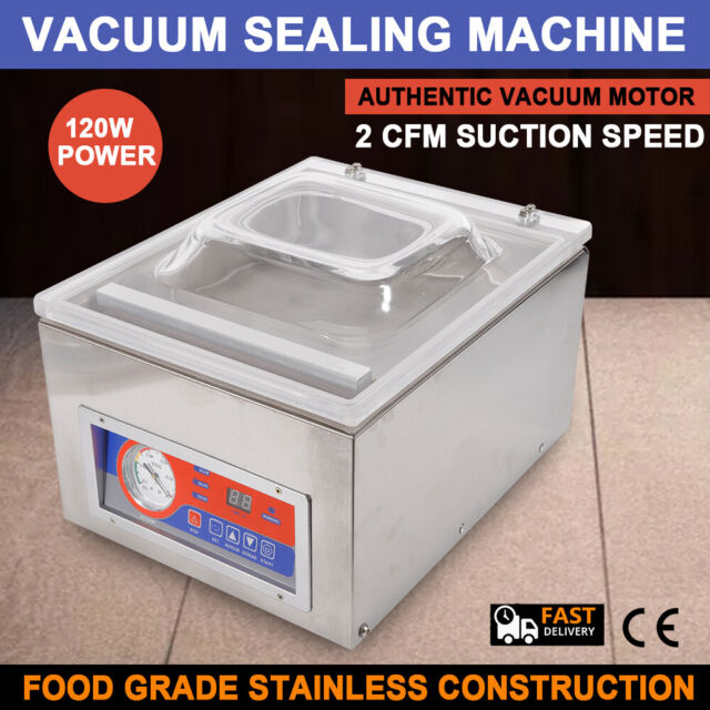 commercial kitchen food chamber tabletop seal vacuum