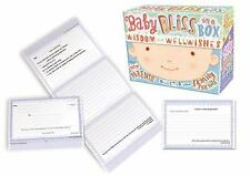 Baby Bliss in a Box: Wisdom and Well-Wishes for New Parents - LikeNew - Potter S