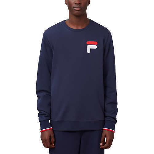 SALE Fila Men/'s French Terry Crew Neck Sweatshirt VARIETY SIZE/&COLOR A31 NEW