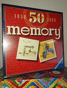 50-Jahre-MEMORY-1959-2009-kultige-JUBILAUMS-EDITION-Ravensburger-RAR