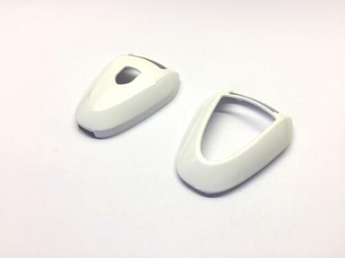 Gloss White Remote Key Protection Case For Porsche 981 997 Facelift