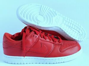 Image Is Loading Nike Dunk Low ID B RED White SZ