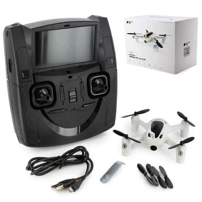 Nuevo Hubsan H107D+ vista en primera persona Cuadricóptero Drone X4 Plus listo para volar con cámara radio Envío Gratis en EE. UU.