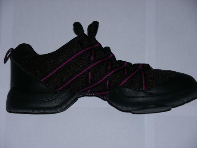 3d8d8fafa19 BLOCH Criss Cross Dancesneaker S0524 Purple Pink Red Black UK 2 ...
