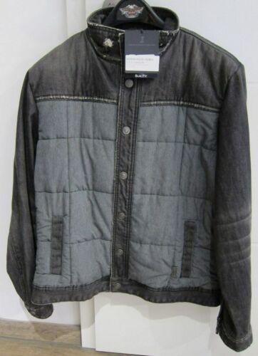 da 15vm invecchiato Davidson Nuovo Fit Harley Giacca grigio Slim 97553 effetto uomo Winterjacket Gr L FYwfxdzq