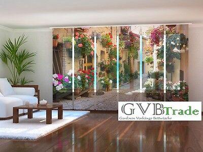 Fotogardinen Sunny Schiebevorhang Schiebegardinen Vorhang Gardinen 3d Fotodruck Packing Of Nominated Brand Home & Garden