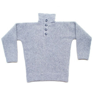 100% Wool Dachstein Woolwear Thick Boiled Wool Pullover Sweater ...