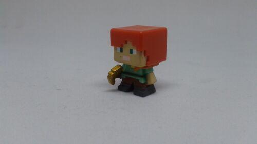 Minecraft Mini-figure Alex with Gold Pickaxe Used w//o Original Box