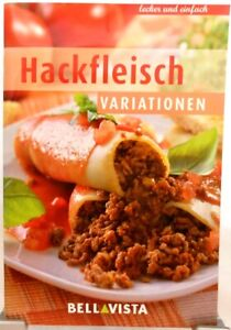 HACKFLEISCH Variationen + Kochbuch + Ratgeber mit raffinierten Rezepten (51-20)