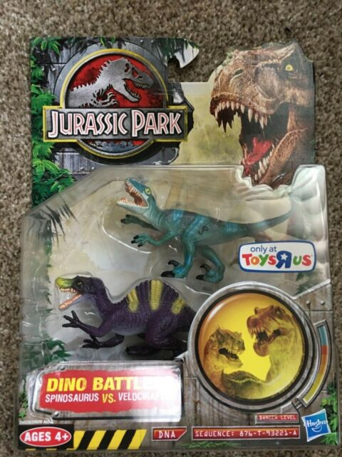 Jurassic Park Dino Battlers Tricertops Vs Tyrannosaurus Rex