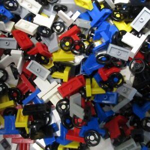 Used-LEGO-500g-Packs-Car-Parts-3829c01-Lenkrad-1-x-2
