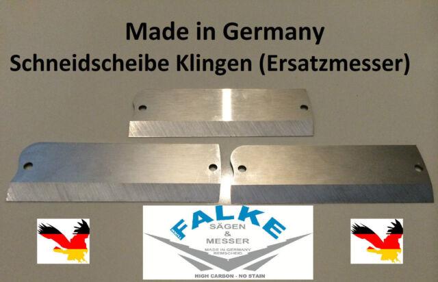 2 Stück Schneidscheibe Universal Klingen Ersatzmesser Schneidescheibe !!!
