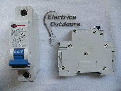 Wylex 6 Amp TYPE C 10 kA MCB Disjoncteur PSB06-C