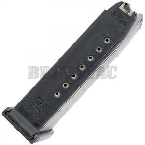 Glock 19 10-Round Magazine 9mm G19 Factory Mag OEM Gen-1/2 ...  Glock 19 10-Rou...