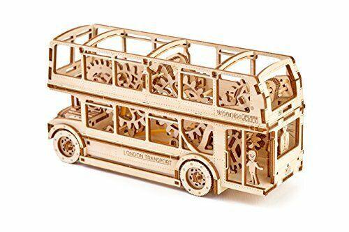 Wooden City London Bus Model Kit WR303