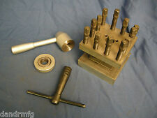 """LATHE TURRET 4-WAY TOOL INDEXING POST 4-1/4"""" SQUARE FOR CNC LATHE MACHINE SHOP"""