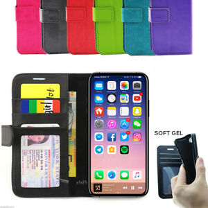 Pink-White-iPhone-4-4G-4S-4GS-Wallet-Credit-Card-Flip-Leather-Pouch-Case-Cover