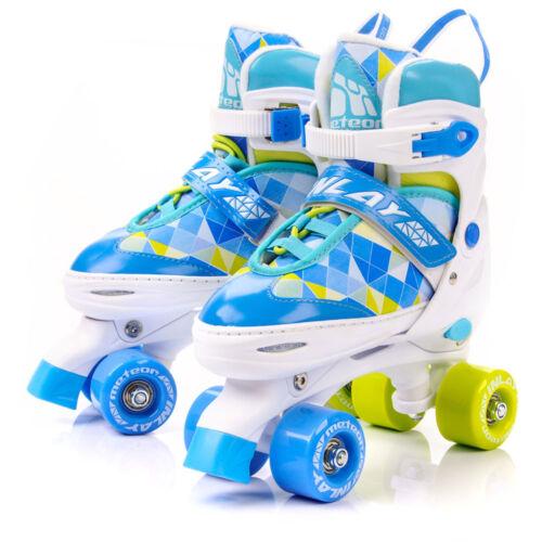 KINDER Damen RETRO Rollschuhe GRÖßENVERSTELLBAR Roller Skates Inliner METEOR