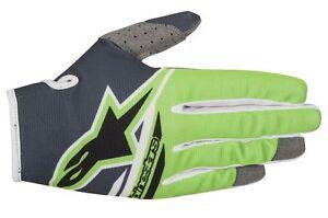 Guanti-Adulto-Alpinestars-Radar-Flight-Gloves-Verde-Fluo-Nero-Cross-Enduro