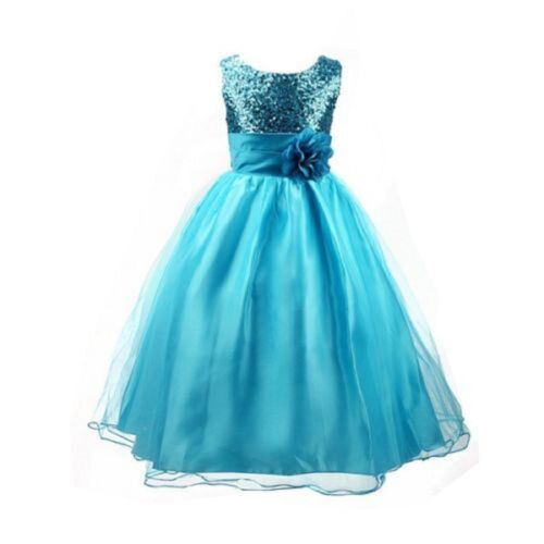 REDUCED TO CLEAR!! Girls Bridesmaid Wedding Special Occasion Dress