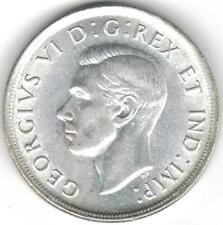 TMM* 1939 Canada Silver Dollar/Parliament KGVI AU/Unc