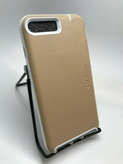 new arrival ef583 16012 tech21 EVO Go Impactology Card Folio Case for iPhone 7 Light Tan