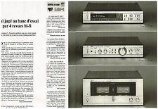 Publicité Advertising 1980 (2 pages) Hi Fi Ampli Tuner Akai