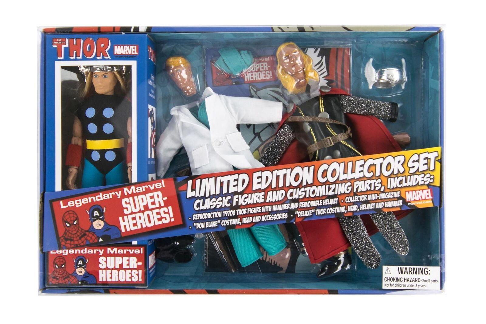 Diamond Select Marvel Retro Thor 8-inch Action Figure Set