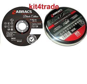 ABRACS-BLACK-EDITION-PHOENIX-2-THIN-CUTTING-DISCS-METAL-INOX-5-034-125MM-x-10