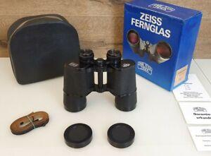 Fernglas Carl Zeiss Jena 10x50 JENOPTEM multi-coated OVP Binoculars NEUZUSTAND!!