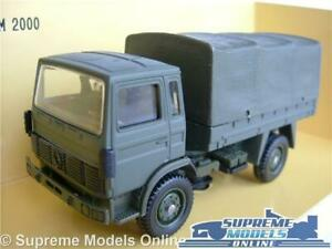 Renault Trm 2000 Model Truck Lorry Military Army Green 1:50 Scale Solido K8 Facile à RéParer
