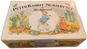 Wedgwood Peter Rabbit Nursery Set  4 Piece Set