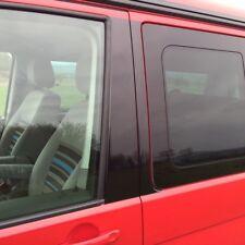 VW T5 California, Carvelle, Transporter B Pillar Blackout Decals -Gloss Black