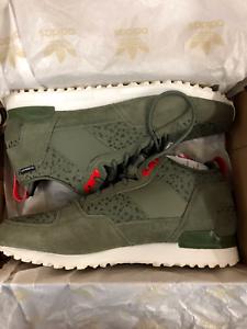 Adidas M20996 Military Trail Runner Men Sneakers St Major White Vapour SZ 12.5