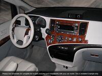 Dash Trim Basic Kit 30 Pcs Fits Toyota Sienna 2011-2014 W/o Gps
