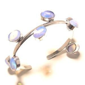 The Cheapest Price Silver Overlay Cuff Bracelet Bangel Fire Opal Handmade Jewelry Bracelets Jewellery & Watches
