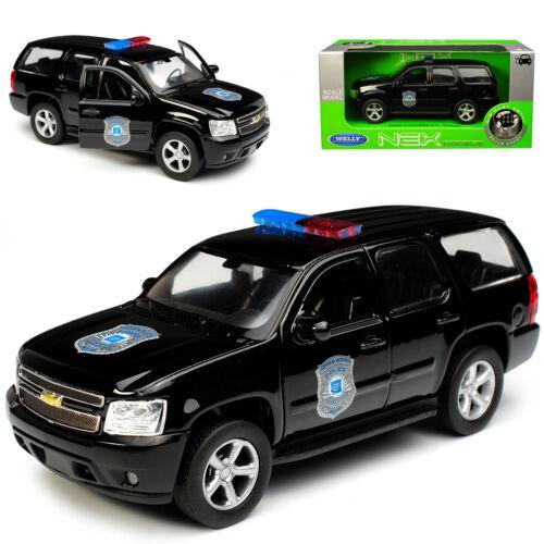 Generation 2006-201.. Chevrolet Chevy Tahoe GMT921 SUV Schwarz Police Polizei 3
