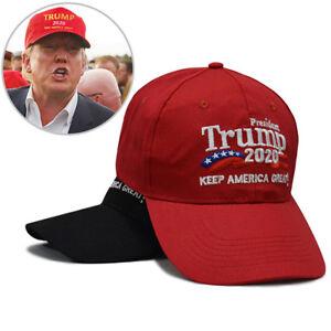 Unisex Solid Color Casual  Baseball Cap  Snapback President America Great Trump