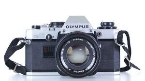 Olympus OM 10 Lens Olympus Zuiko 50mm F 1.8   (Réf#C-226)