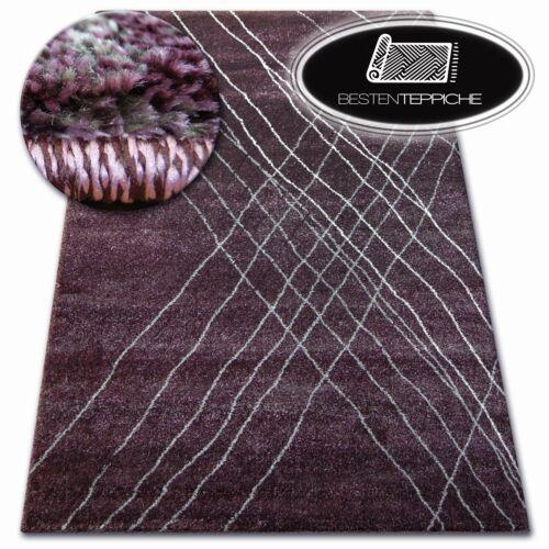 Dick Qualität 20mm Modern Design Dicht Weiche Teppiche SHADOW 9367 lila