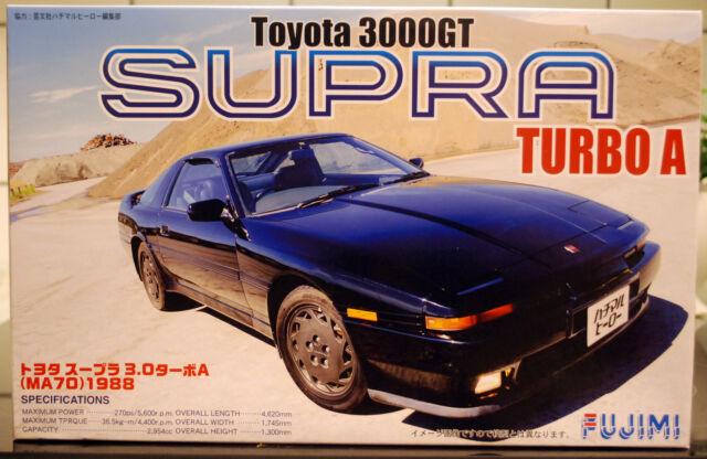 1988 Toyota Supra 3000gt Turbo A Ma70 1 24 Model Kit Bausatz Fujimi