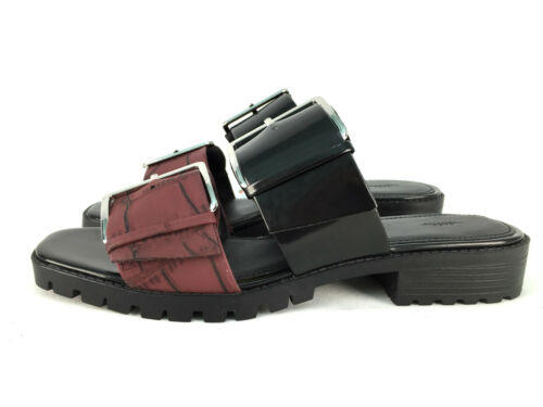 Flat 37 6 Size Eur Sandals 40 39 Uk 38 5 Black Zara 7 4 FT1w66