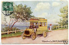 publicité.OMNIBUS de DION-BOUTON.bus.autocar.chauffeur.old bus.advertiseur