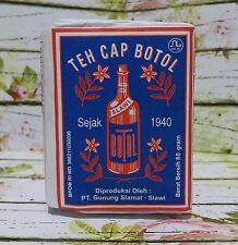 4x40gr Teh Cap Botol, Loose Leaf Indonesia Traditional Tea-Old Design Paper Wrap