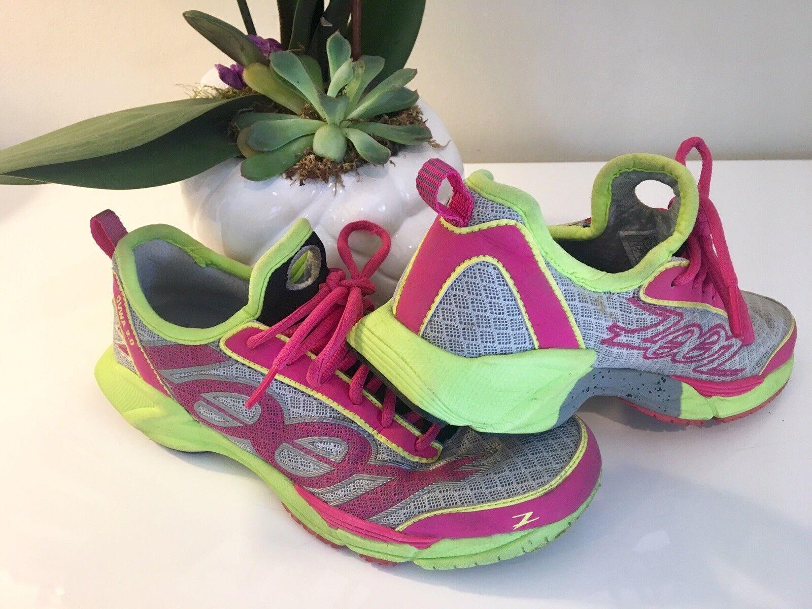 HOT  Womens Zoot Tri-shoes Ovwa 2.0 Pink  Size 7.5