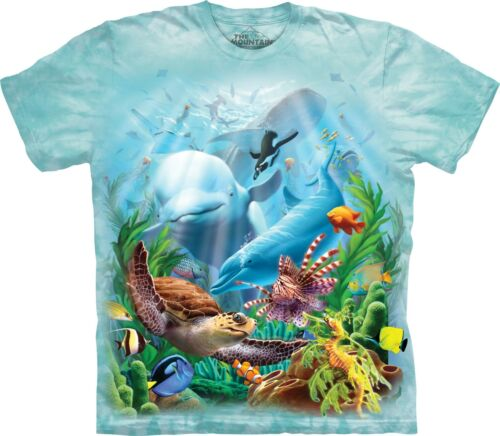The Mountain Unisex Adult Seavillians Aquatic Animal T Shirt